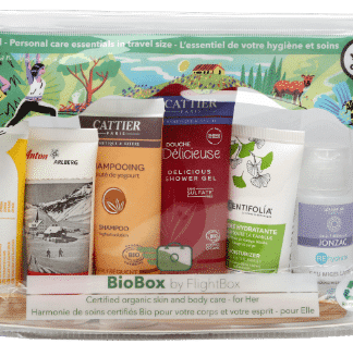 Trousse de toilette BioBox pour elle by Flightbox