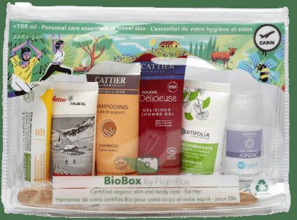 Trousse de toilette BioBox pour elle by Flightbox