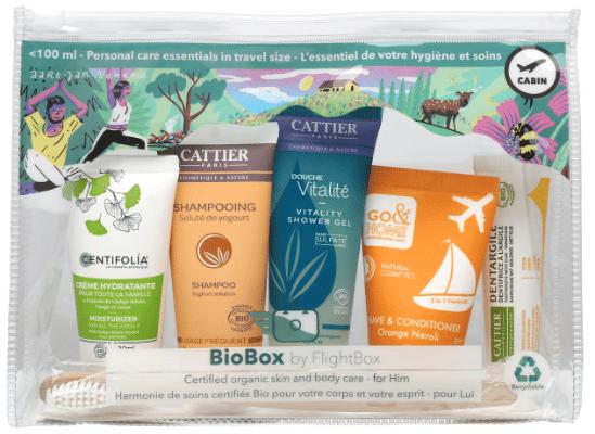 Trousse de toilette BioBox pour lui by Flightbox