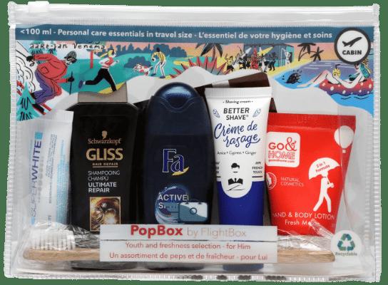 Trousse de toilette PopBox pour lui by Flightbox